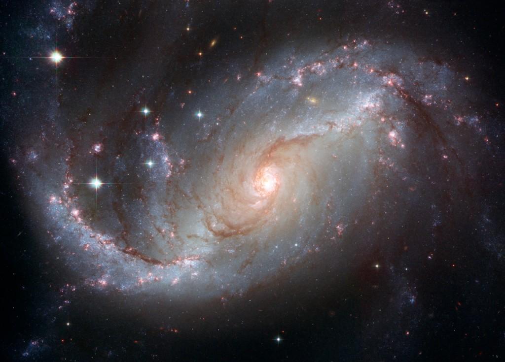 Barred Spiral Galaxy NGC 1672