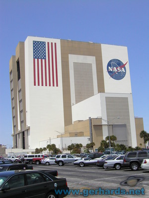 The NASA Vehicle Assembly Building (VAB)