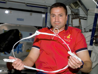 ISS Solar Array repair kit assembled onboard the ISS